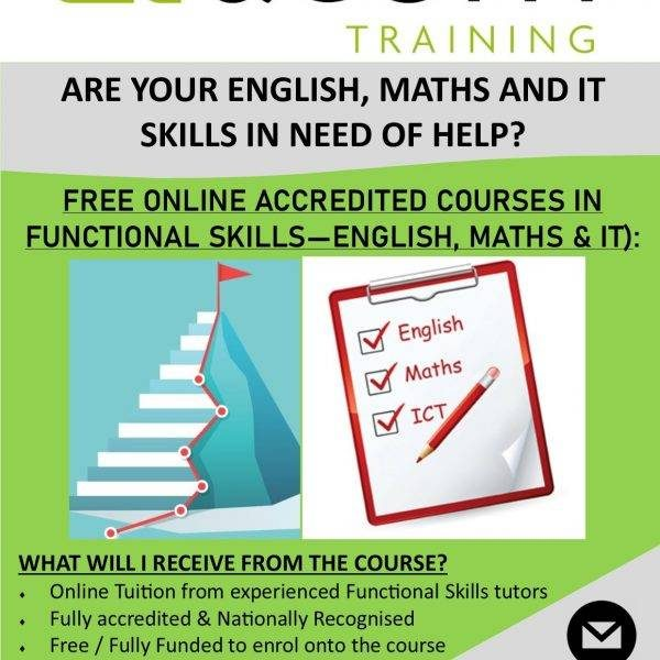 Online Functional Skills Poster